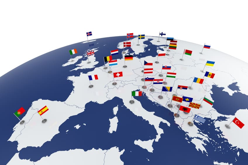 Europe map (© Denys Rudyi - Fotolia.com)