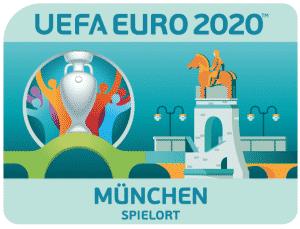 Logo München 2020 , Quelle: UEFA