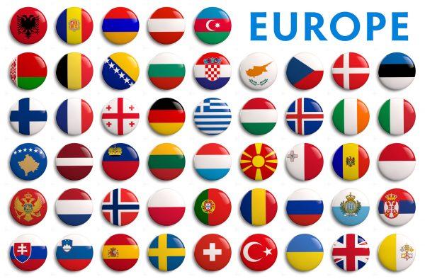 50 der 55 UEFA Mitgliederverbände (© somartin – Fotolia.com)