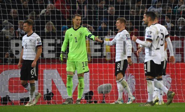 Deutschland spielt in der EM-Gruppe F bei der Em-Endrunde 2020. (Photo by INA FASSBENDER / AFP)
