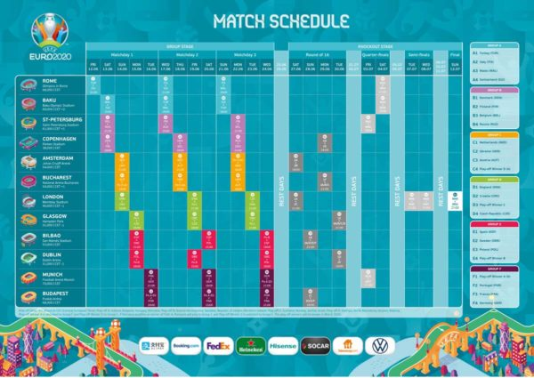Seite bearbeiten ‹ Fußball EM 2020 — WordPress