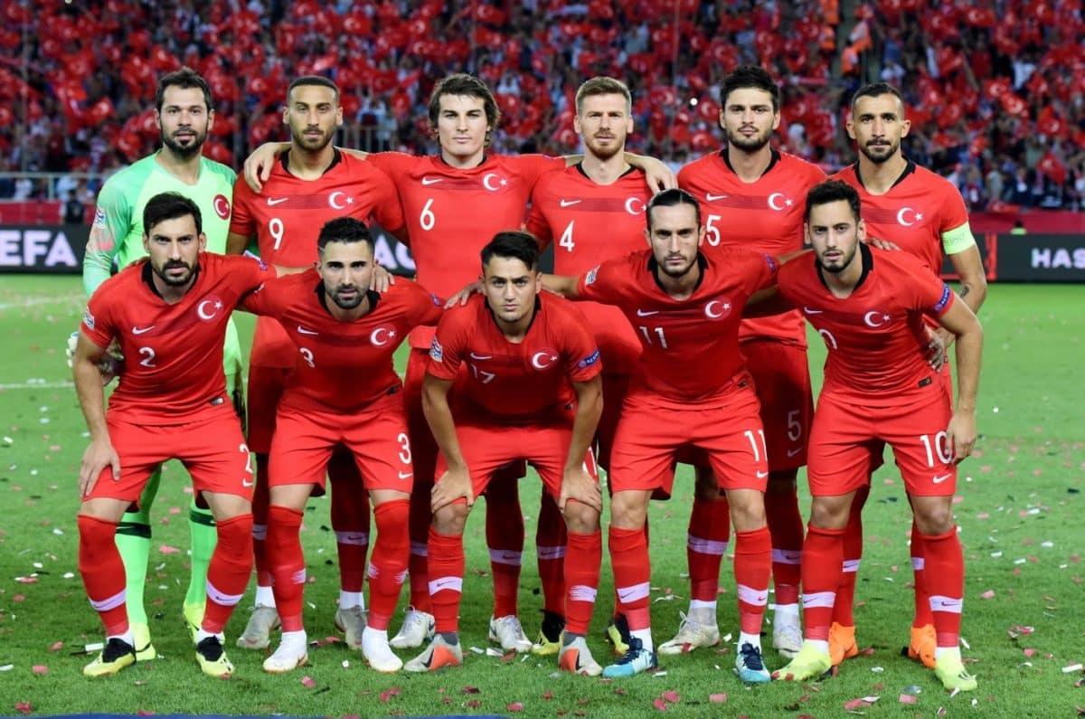 Die türkische Nationalmannschaft im Septmeber 2018 in der Nations League (Foto Shutterstock)