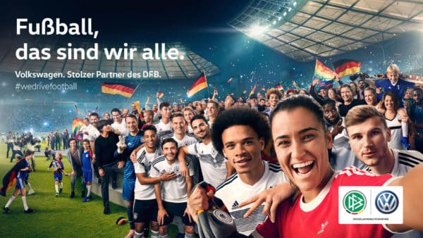 Volkswagen ist Partner des DFB als auch der EURO 2020.