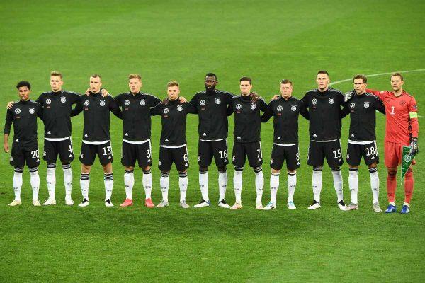 Die deutsche Fußball-Nationalmannschaft möchte es ins EM-Finale schaffen! Doch vorher warten Portugal und Frankreich in der EM-Vorrunde (Foto AFP)